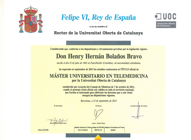 diploma masterT